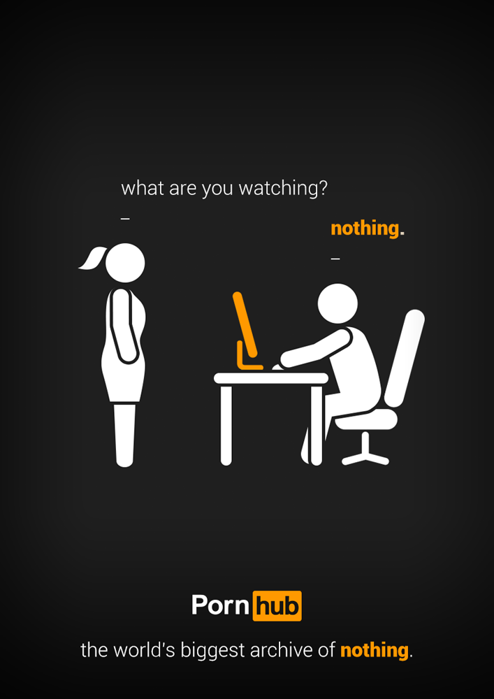Ad Campaign Pornhub Finalist Nothing